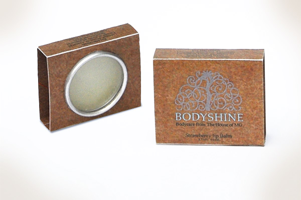Bodyshine - House of MG - Lip Balm Packaging Design by No Formulae