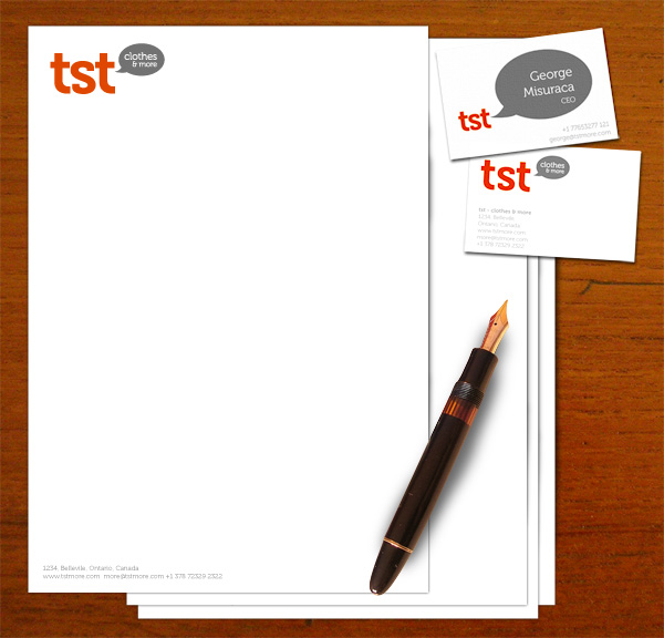 TST Branding Stationery Design by No Formulae