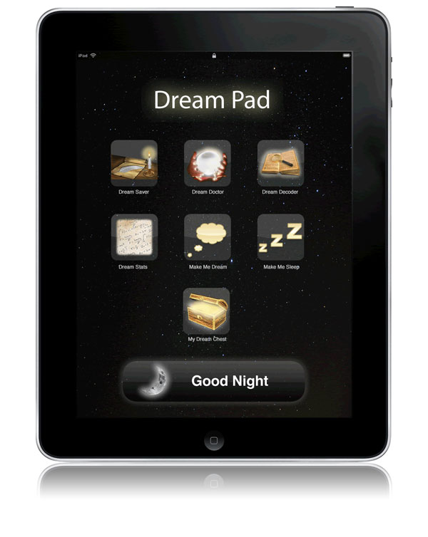 Dream Pad iPad Application Design by No Formulae
