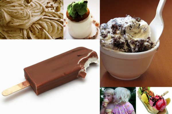 Ice Creams Moodboard by No Formulae