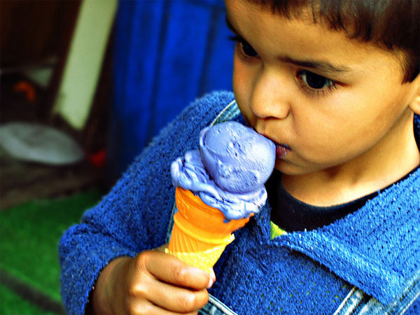 Design Research on Ice Creams by No Formulae