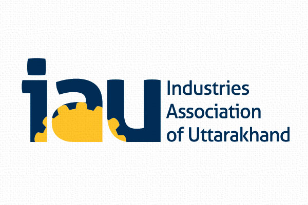 No Formulae Branding IAU Logo Industries Association of Uttarakhand