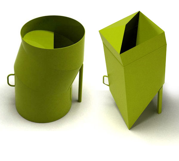 Commonwealth Games Sustainable Dustbins Design by No Formulae