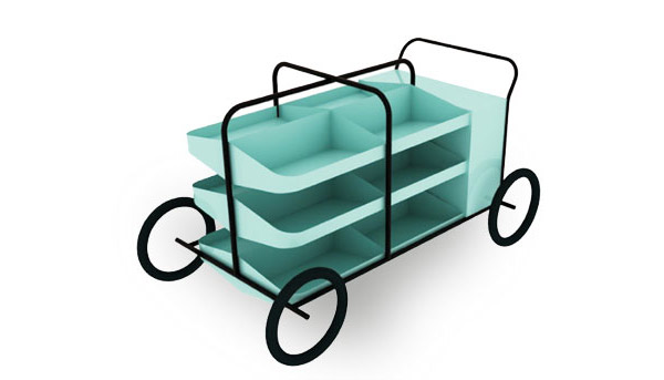 Commonwealth Games Vegetable Cart by No Formulae