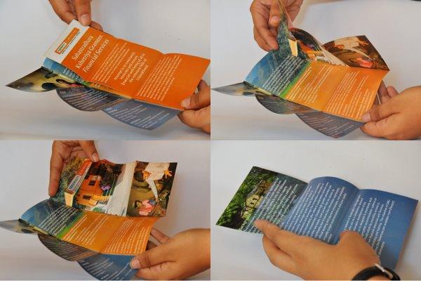 IFMR Flyer Folding - Rural Banking Communication Design by No Formulae