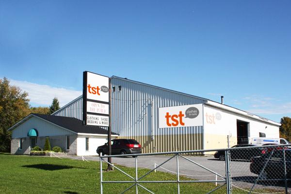 TST Canada Retail Store Branding by No Formulae
